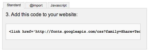 googleフォント